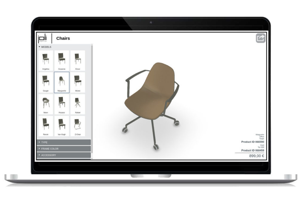 The advantages of a 3D web configurator. | VisCircle 3D