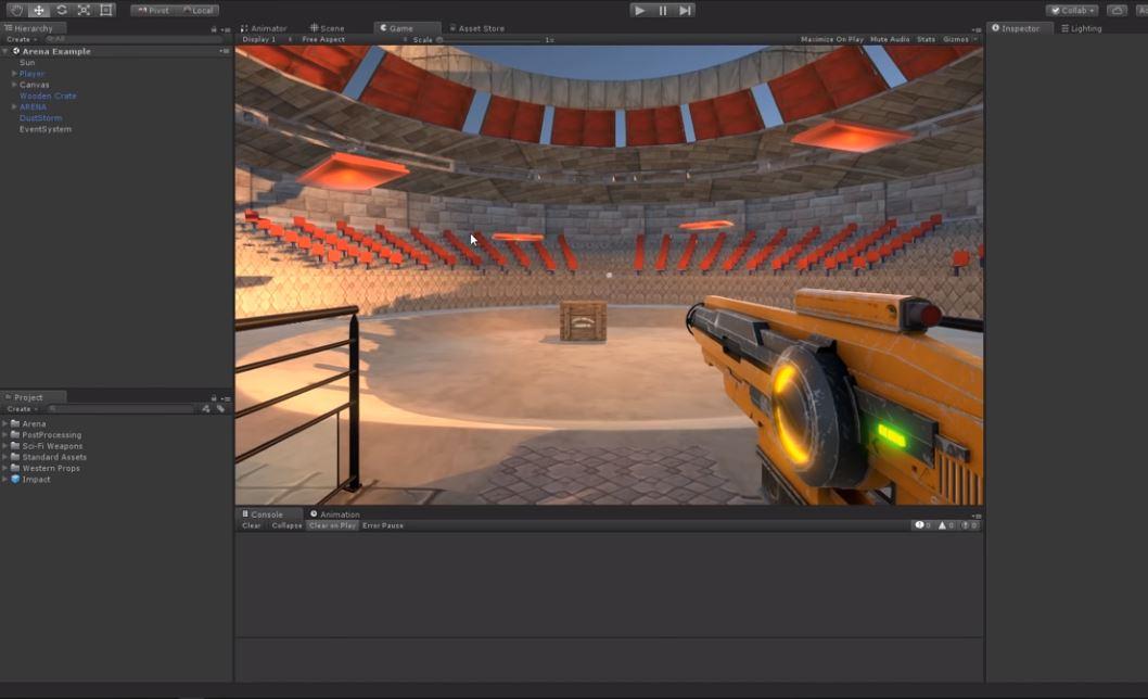 raycast-unity – 3D Görselleştirme
